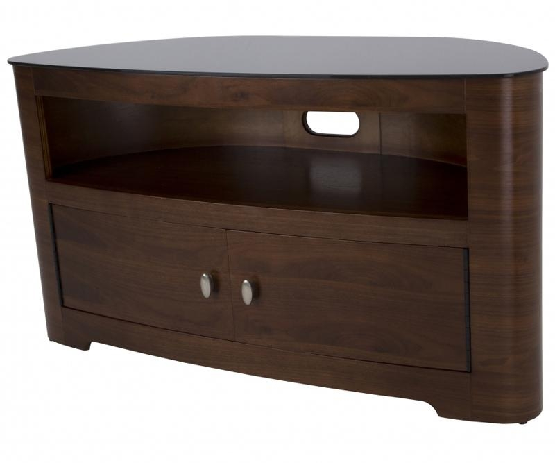 Avf Blenheim Walnut Tv Stand For Up To 55 Fs1100Blew | Tv In Most Popular Walnut Corner Tv Stands (View 17 of 20)