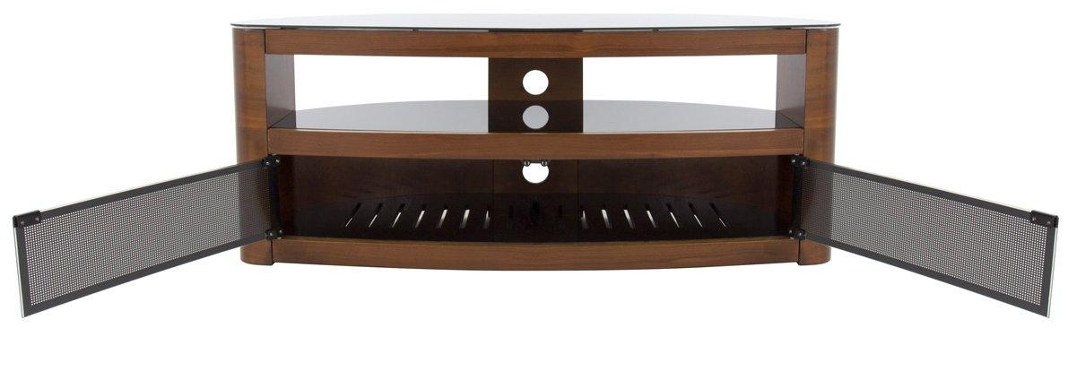 Avf Burghley Fs1250 Walnut Tv Stand For Most Current Avf Tv Stands (Image 5 of 20)