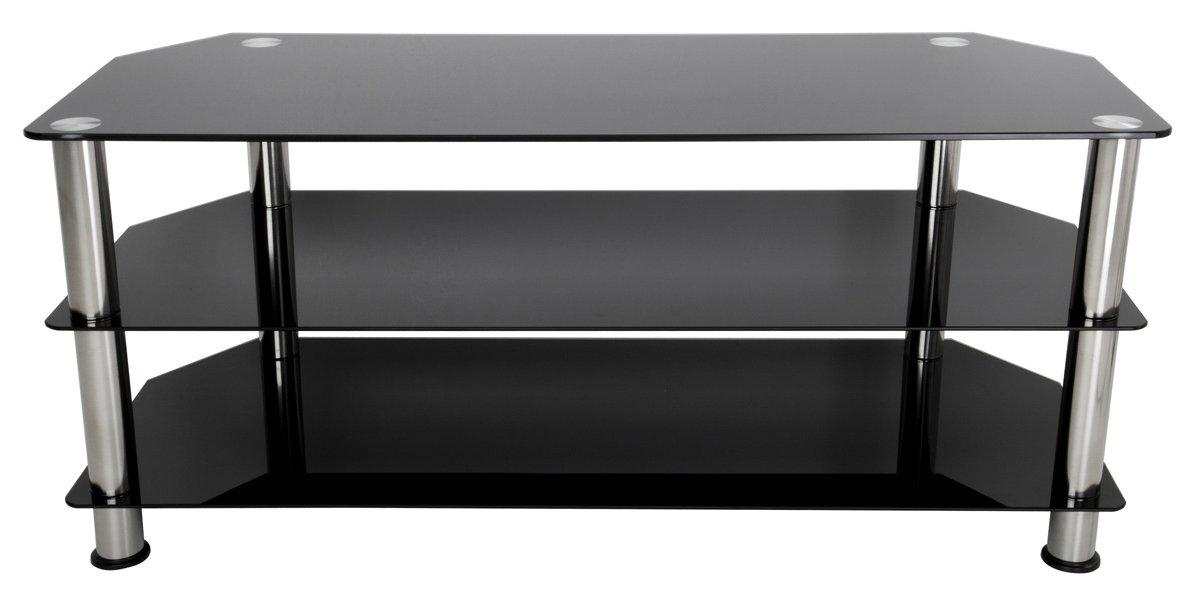 Avf Sdc1140 Tv Stands Pertaining To Best And Newest Large Black Tv Unit (Image 3 of 20)