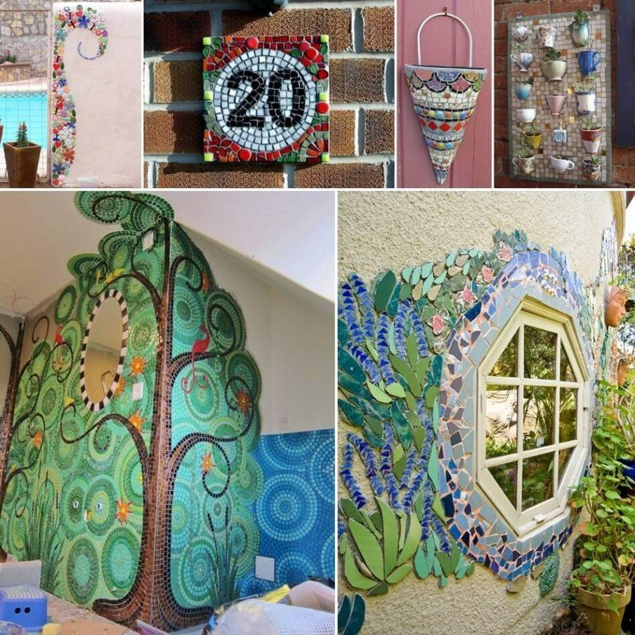 Awesome Diy Tile Mosaic Wall Art Wall Art Made From Mosaic Wall Pertaining To Diy Mosaic Wall Art (View 9 of 20)