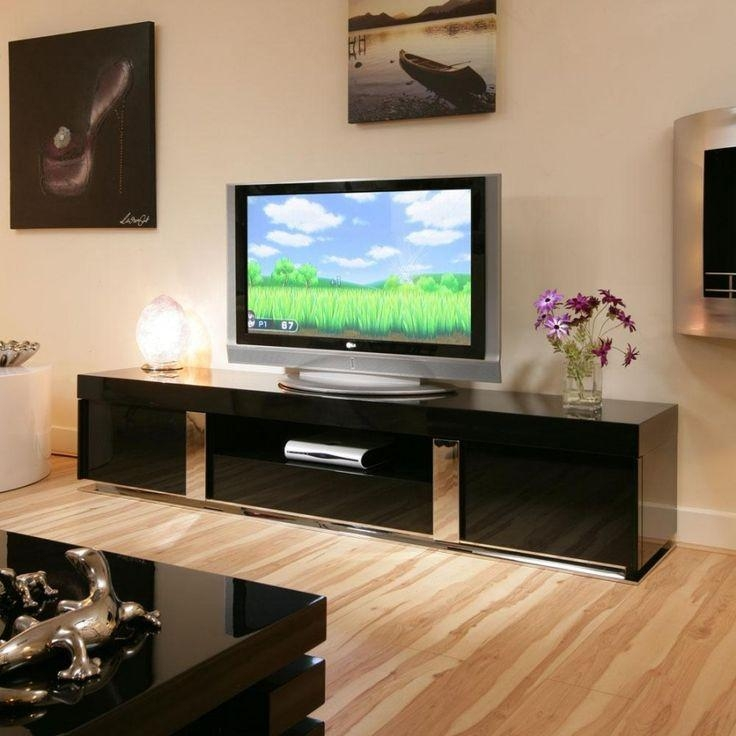 Awesome Large Black Tv Stand 17 Best Ideas About Black Gloss Tv In Newest Large Black Tv Unit (View 13 of 20)