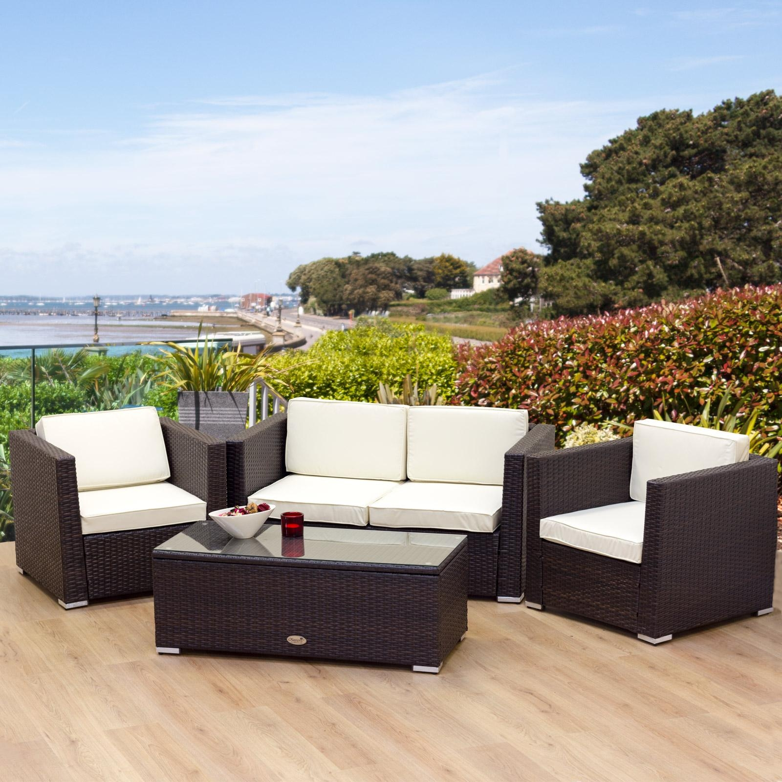 Awesome Rattan Garden Furniture – Hgnv Inside Modern Rattan Sofas (View 13 of 23)