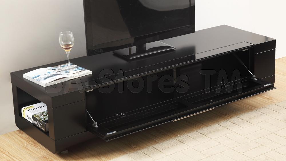 B Modern Editor Remix Mini Tv Stand | Matte Black | Modern Tv Pertaining To Latest B Modern Tv Stands (Image 8 of 20)