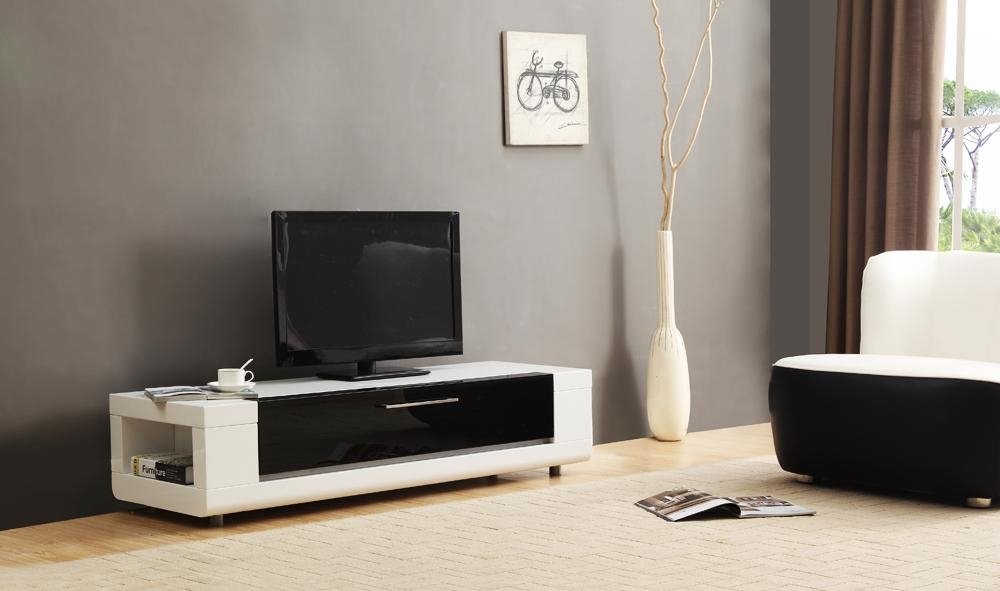 B Modern Editor Remix Mini Tv Stand | White High Gloss, B Modern Intended For Most Up To Date B Modern Tv Stands (Image 10 of 20)