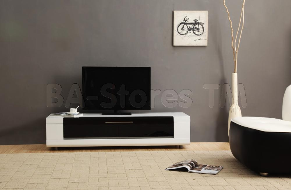 B Modern Editor Remix Mini Tv Stand | White High Gloss | Modern Tv Pertaining To 2017 White Contemporary Tv Stands (Image 3 of 20)