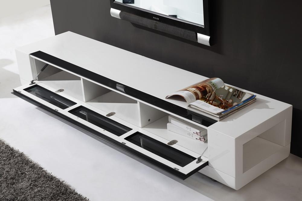 B Modern Editor Remix Tv Stand | White High Gloss, B Modern For Current White Tv Stands (Image 2 of 20)