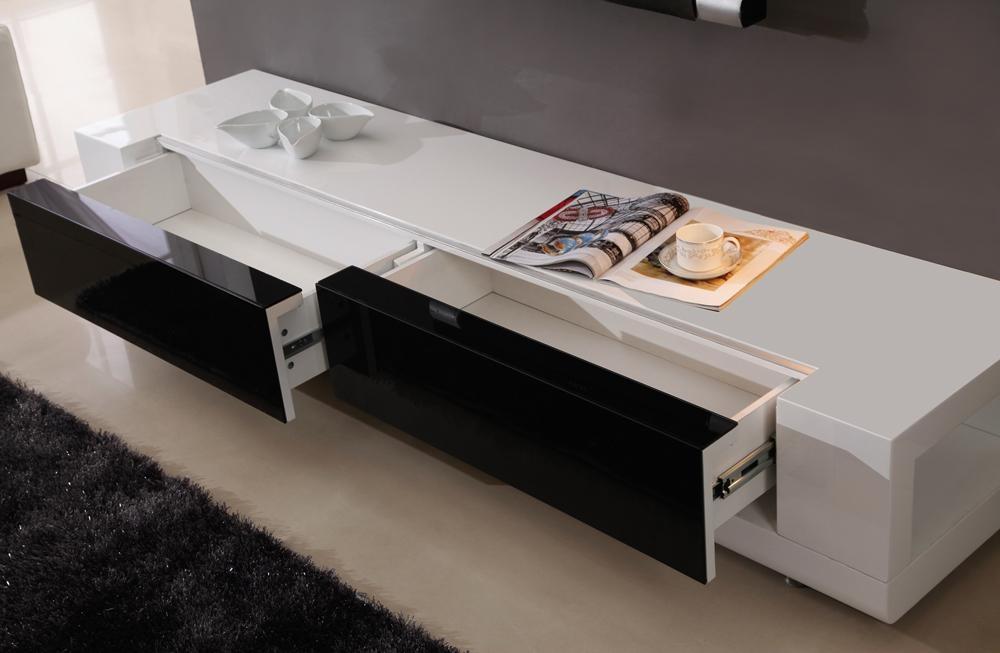 B Modern Editor Tv Stand | White High Gloss, B Modern – Modern Regarding Most Popular White And Black Tv Stands (Image 3 of 20)