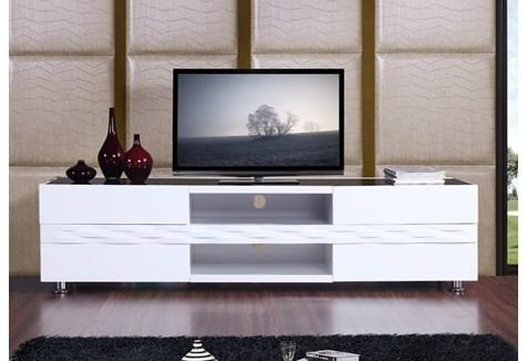 "B-Modern Publisher 70.8"" High-Gloss White Tv Stand - Bm-803-Wht pertaining to Most Recently Released Modern White Tv Stands"