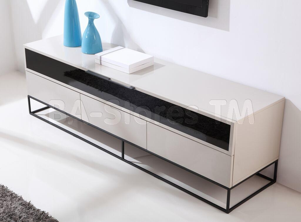 B Modern | Tv Stands, Coffee Tables Regarding Most Current Cream Gloss Tv Stands (Image 5 of 20)