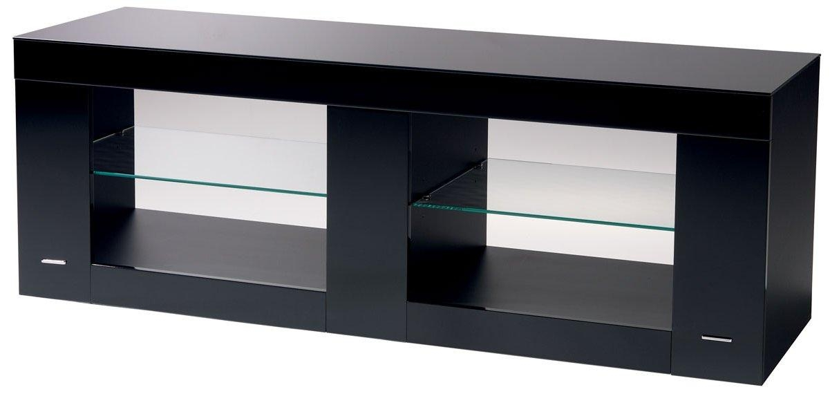 B Tech Btf803 High Gloss Black Tv Stand For Most Recent Shiny Black Tv Stands (Image 5 of 20)