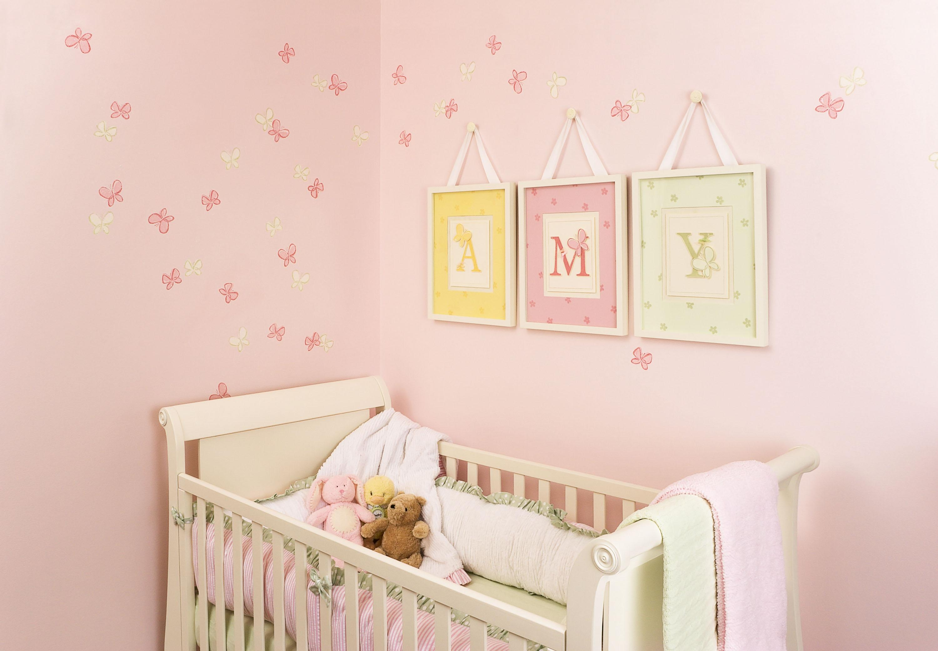 20 ideas of wall art for little girl room wall art ideas for Baby girl wall decoration