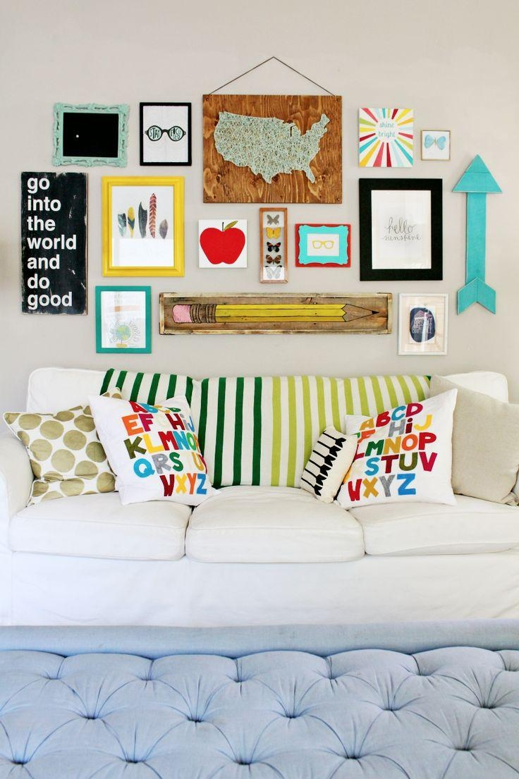Back To School Decor On Gwg | Dazzling Decor | Pinterest | School With Wall Art For Kindergarten Classroom (Image 1 of 20)