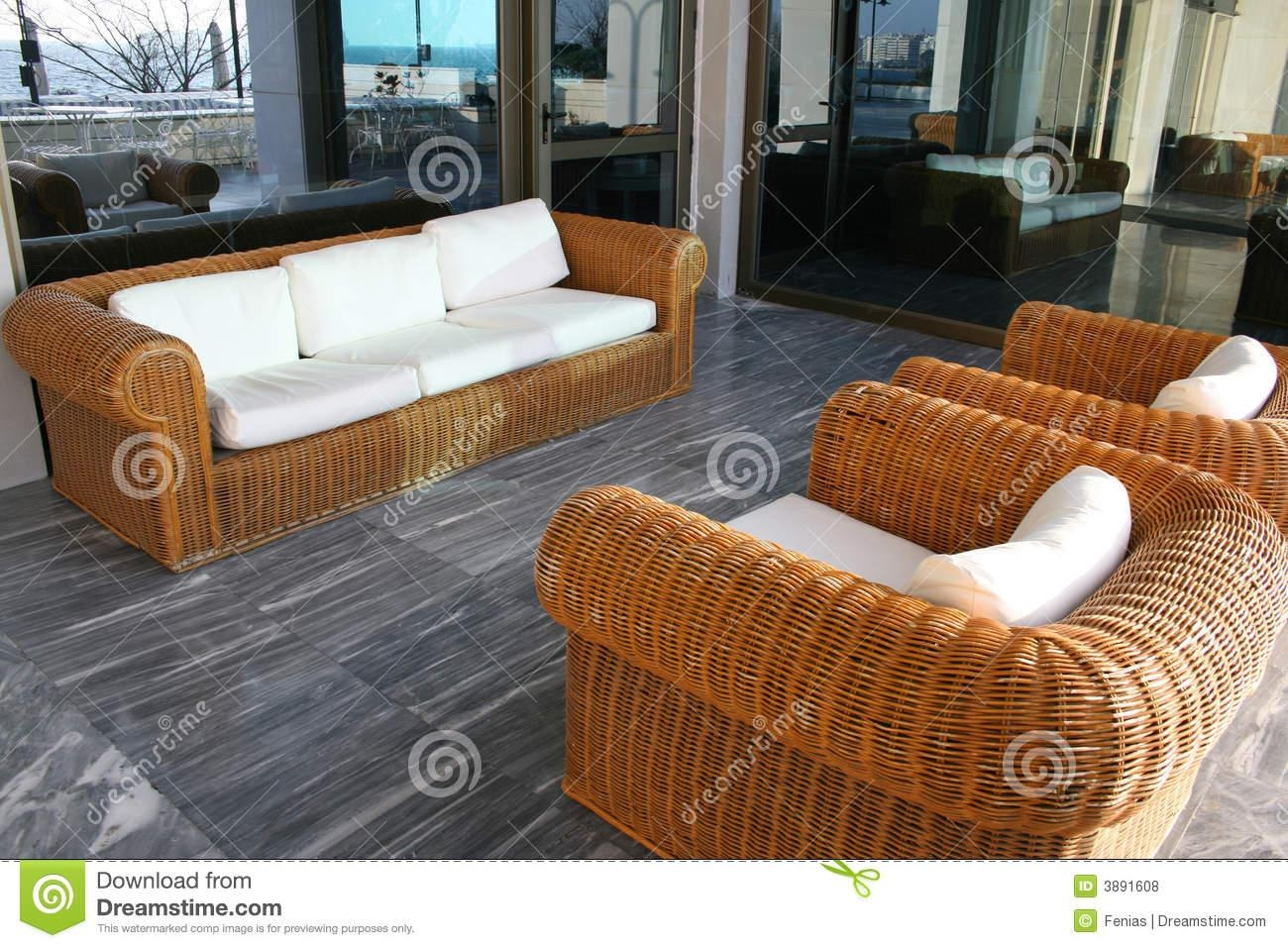 Bamboo Sofa Royalty Free Stock Photos – Image: 3891608 With Regard To Bambo Sofas (View 6 of 22)