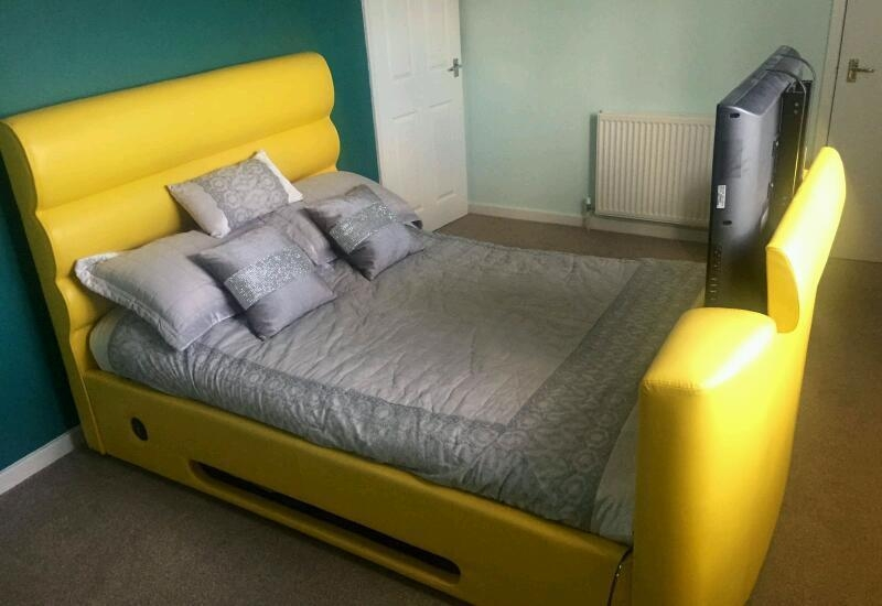 Barcelona 32 Inch Tv Bed In Yellow | In Uddingston, Glasgow | Gumtree With Regard To 2018 32 Inch Tv Bed (Image 1 of 20)