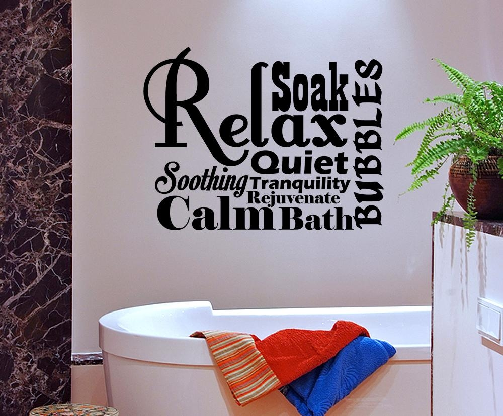 Featured Photo of Glamorous Bathroom Wall Art