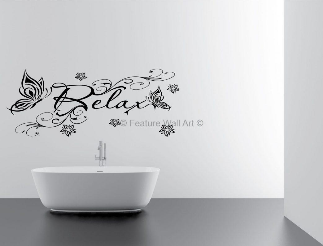 Bathroom Wall Art Ideas Dacacor Photo Designs Alluring Diy Bubbles For Black And White Bathroom Wall Art (Image 8 of 20)