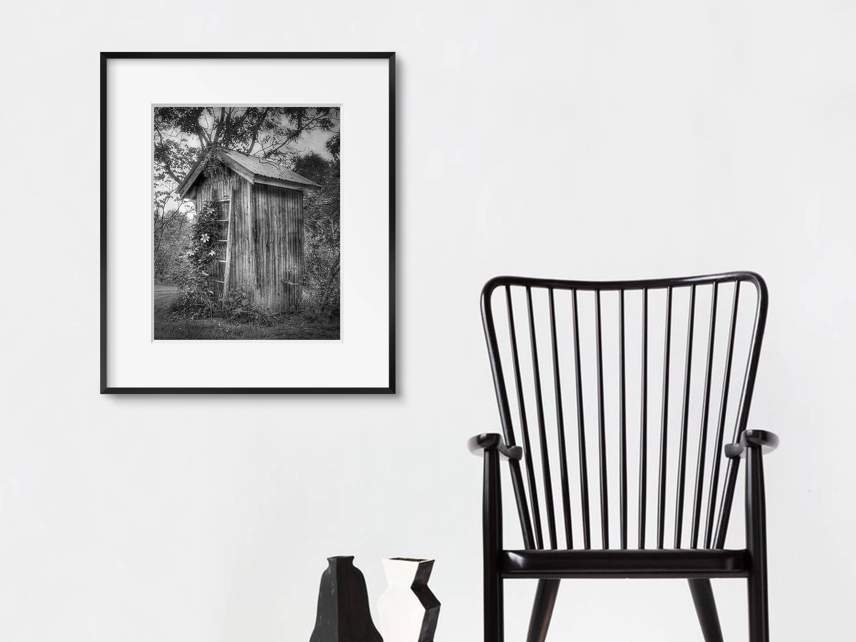 Bathroom Wall Art / Modern Farmhouse Decor / Powder Room Framed Regarding Black And White Bathroom Wall Art (Image 7 of 20)