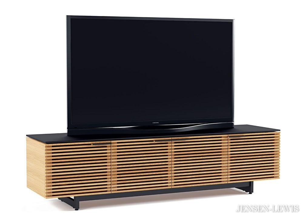Bdi Corridor Wide Low Tv Cabinet 8173 | Jensen Lewis New York With Regard To Most Recent Wide Tv Cabinets (Image 3 of 20)