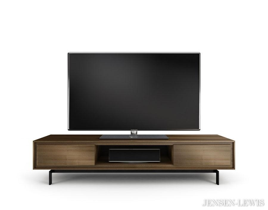 Bdi Signal Tv Stand 8323 | Jensen Lewis New York Furniture Inside Newest Modern Wooden Tv Stands (Image 4 of 20)