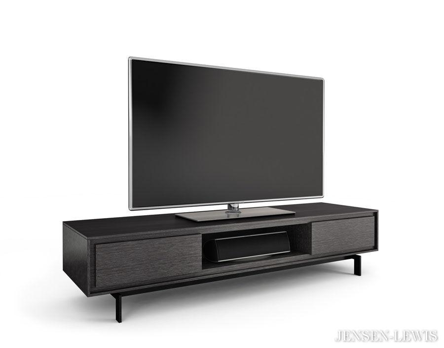 Bdi Signal Tv Stand 8323 | Jensen Lewis New York Furniture Pertaining To Best And Newest Wide Screen Tv Stands (Image 6 of 20)