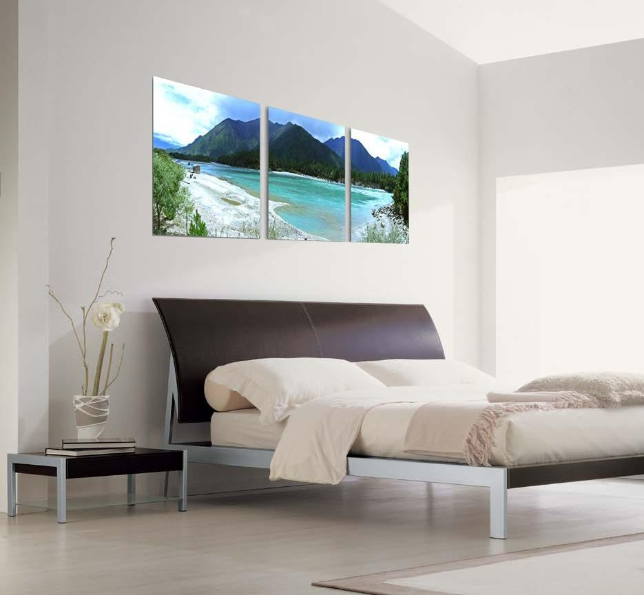 Beach Life Photography 3 Piece Wall Art Inside Three Piece Canvas Wall Art (Image 9 of 20)