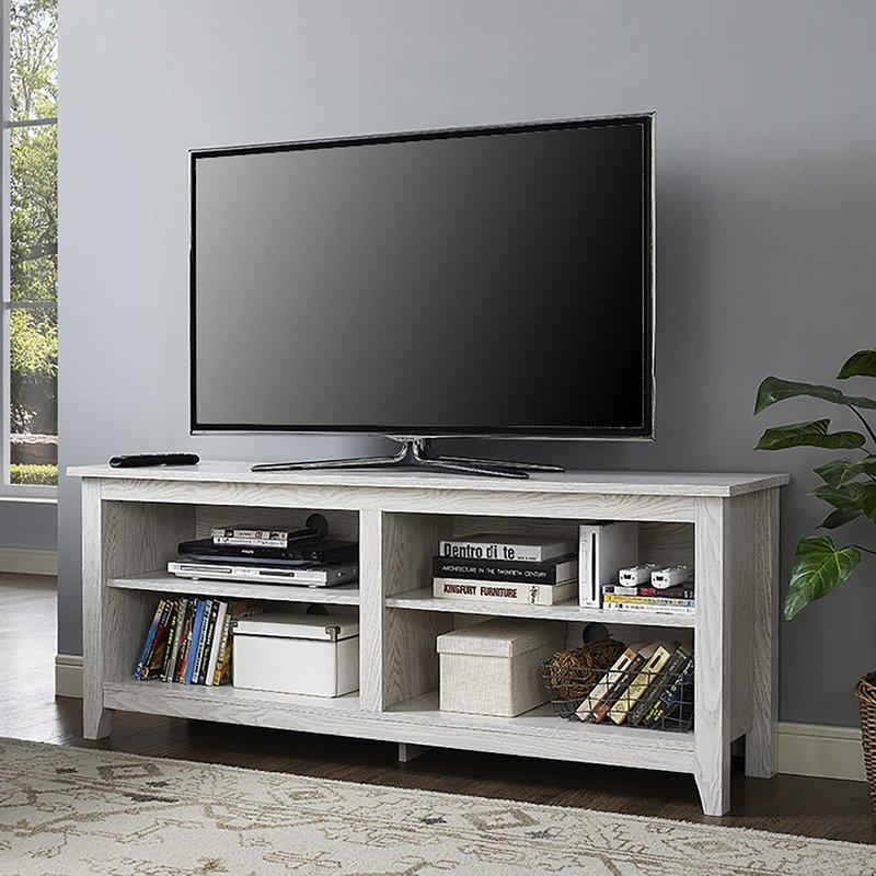 "Beachcrest Home Sunbury 58"" Tv Stand & Reviews 