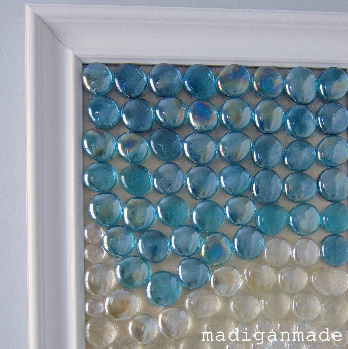 Beachy Glass Gem Wall Art {The Water's Edge} Inside Beach Themed Wall Art (Image 4 of 20)