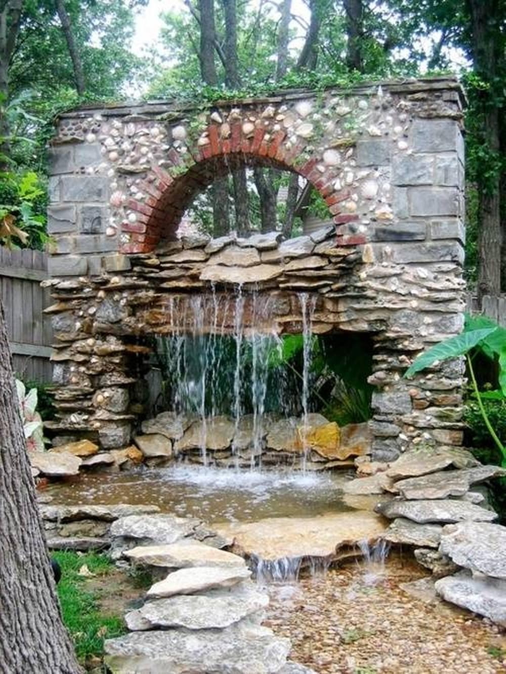 Beautiful Design Large Outdoor Fountain Exquisite Italian Outdoor With Italian Garden Wall Art (View 15 of 20)