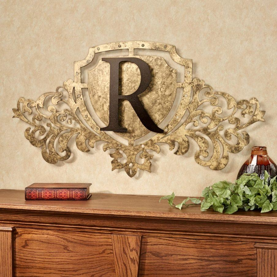 Beautiful Monogrammed Nursery Wall Art Awesome Personalized Last For Monogrammed Wall Art (Image 4 of 20)