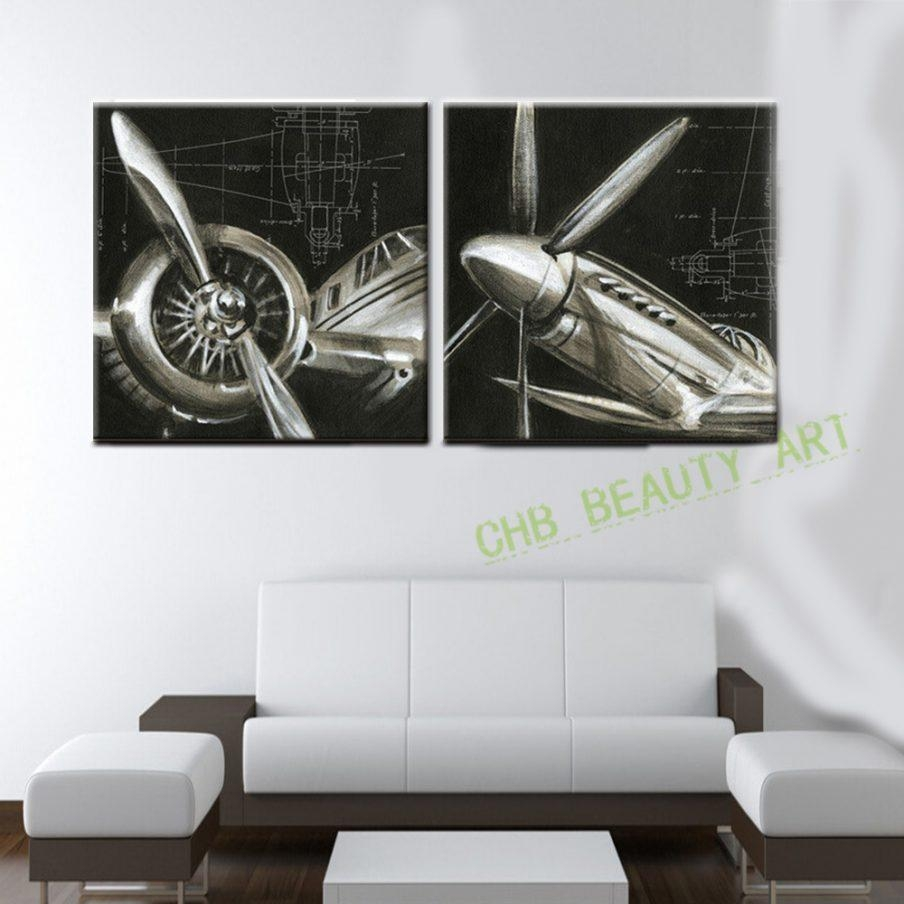 Beautiful Vintage Airplane Wall Art Vintage Big Airplane Patent With Regard To Metal Airplane Wall Art (Image 2 of 20)