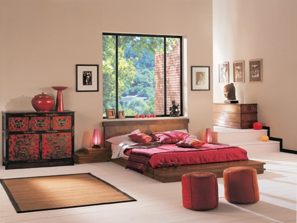 Bedroom : Asian Paints For Bedrooms With Sliding Glass Doors And Within Asian Themed Wall Art (Image 3 of 20)