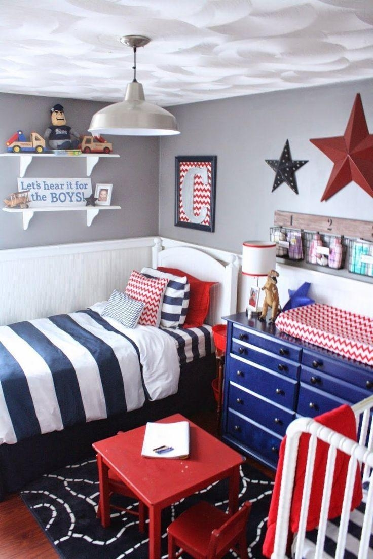 Bedroom : Astonishing Blue Egg Shell Wall Bedding Art Design White Throughout Red White And Blue Wall Art (Photo 13 of 20)