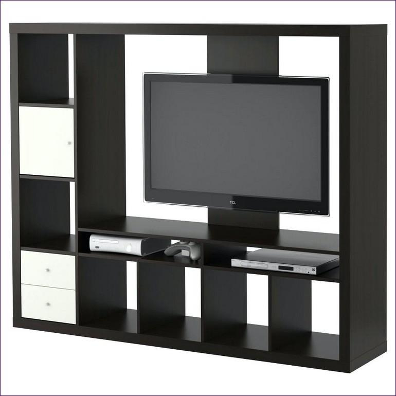 Bedroom : Awesome Small Corner Tv Stands For Flat Screens Large Tv Regarding Newest Tall Black Tv Cabinets (View 17 of 20)