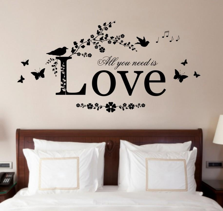 Bedroom Design Ideas With Finest Wall Art Design #3097   Latest Pertaining To Wall Art For Bedroom (View 3 of 20)