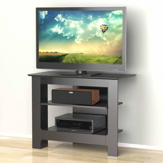 Bedroom : Fabulous Wood Corner Tv Stands For Flat Screens With Most Recently Released Corner Oak Tv Stands For Flat Screen (Image 4 of 20)