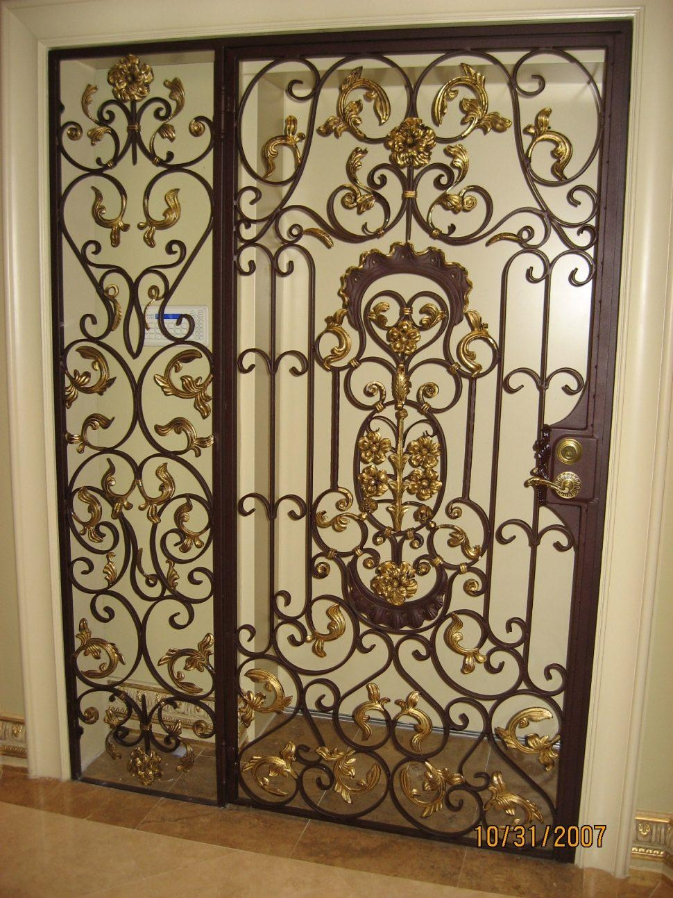 Bedroom : Metal Wall Art Rod Iron Wall Decor Galvanized Wall Decor Within Large Wrought Iron Wall Art (View 6 of 20)