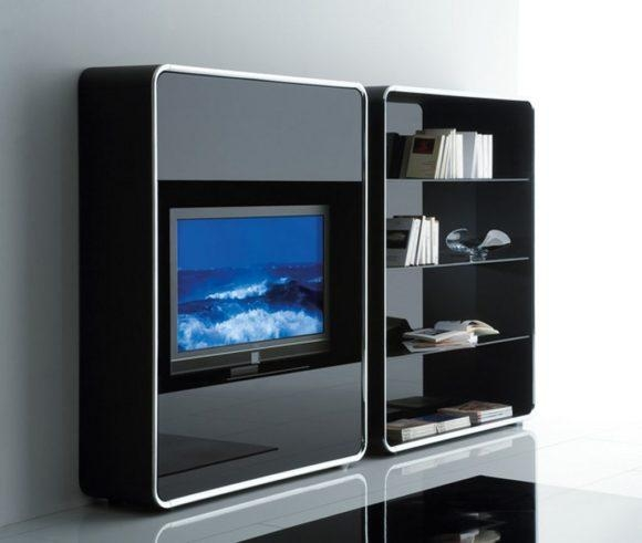 Bedroom. Stylish Tv Stand Designs For Contemporary Bedroom (Image 4 of 20)