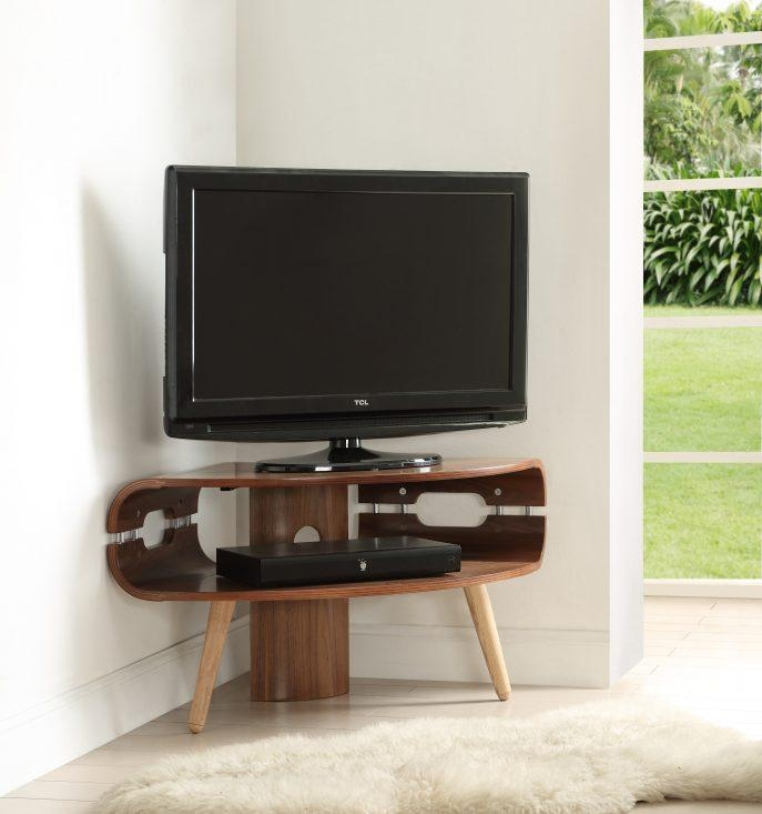 Bedrooms : 50 Inch Tv Stand Black Corner Tv Stand Tv Furniture Regarding Newest 50 Inch Corner Tv Cabinets (Image 6 of 20)
