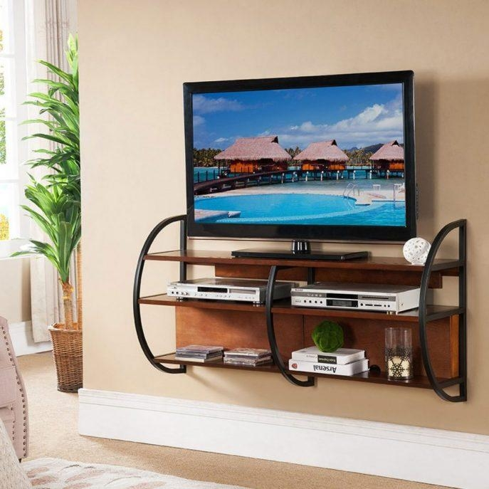 Featured Photo of Dark Wood Tv Stands
