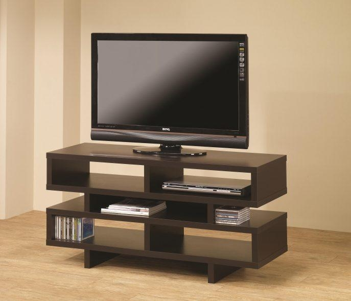 Bedrooms : Tv Shelf Tv Unit Tv Console Tv Cabinet With Doors Led Within Newest Led Tv Cabinets (Image 2 of 20)