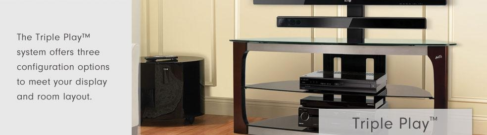 Bell'o International Corporation – Triple Play™ Stands With Regard To Best And Newest Bell'o Triple Play Tv Stands (View 6 of 20)