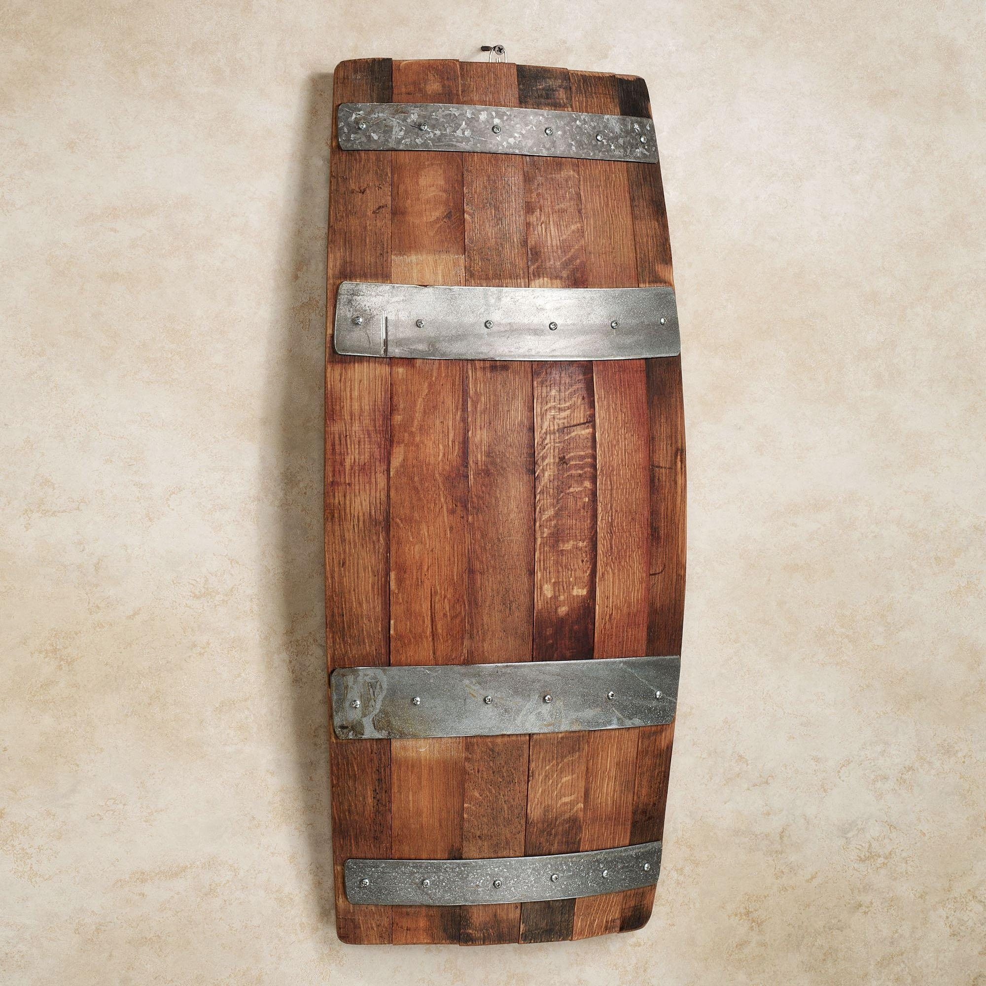 Featured Image of Wine Barrel Wall Art