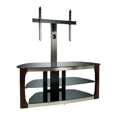 Bello Triple Play Series 60 Inch Tv Stand With Swivel Mounting Throughout Current Swivel Tv Stands With Mount (Image 3 of 20)