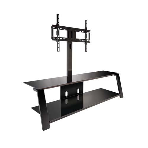 Bello Triple Play Tv Stand With Swivel Mount For 70 Inch Screens Inside 2017 Swivel Tv Stands With Mount (Image 4 of 20)