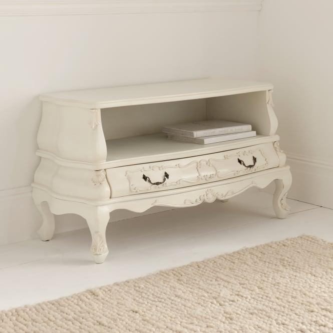 Bergere Antique French Tv Cabinet | Antique Painted Range With Most Up To Date French Style Tv Cabinets (View 8 of 20)