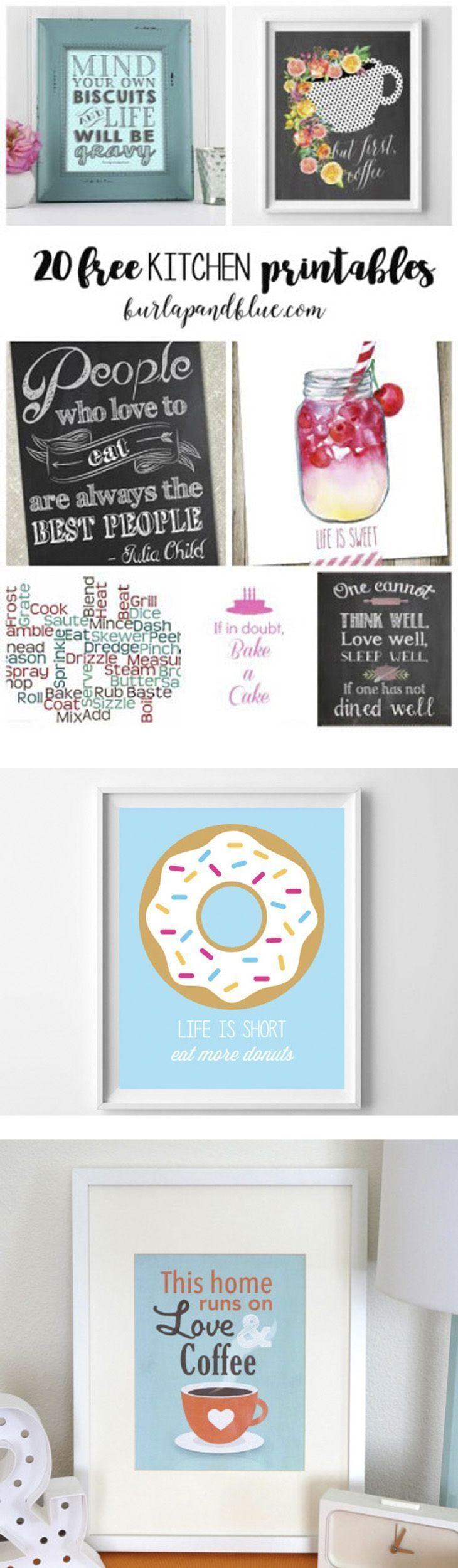 Best 20+ Kitchen Art Ideas On Pinterest—No Signup Required Intended For Midnight Italian Plates Wall Art (View 11 of 20)