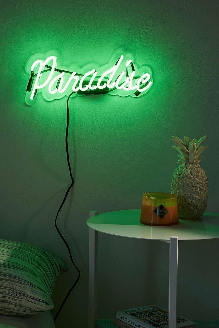 Best 20+ Pineapple Neon Light Ideas On Pinterest—No Signup Required For Neon Light Wall Art (Photo 13 of 20)
