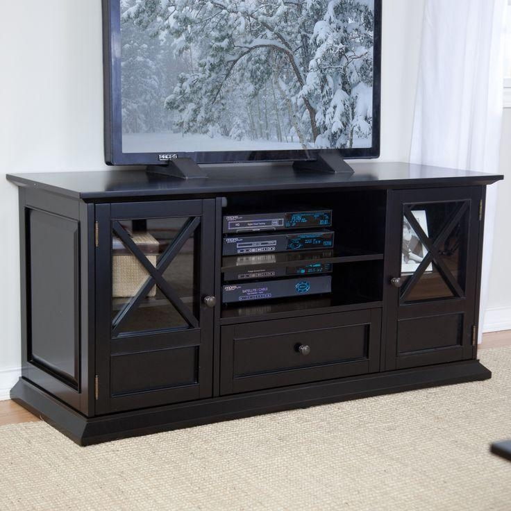 Best 25+ 55 Inch Tv Stand Ideas On Pinterest | White Tv Stands, Tv For 2018 Solid Wood Black Tv Stands (View 5 of 20)