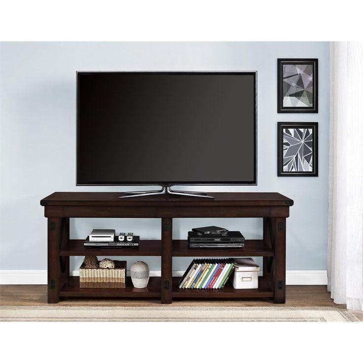 Best 25+ 65 Inch Tv Stand Ideas On Pinterest | 65 Tv Stand, 65 Throughout 2017 Wooden Tv Stands For 50 Inch Tv (Image 4 of 20)