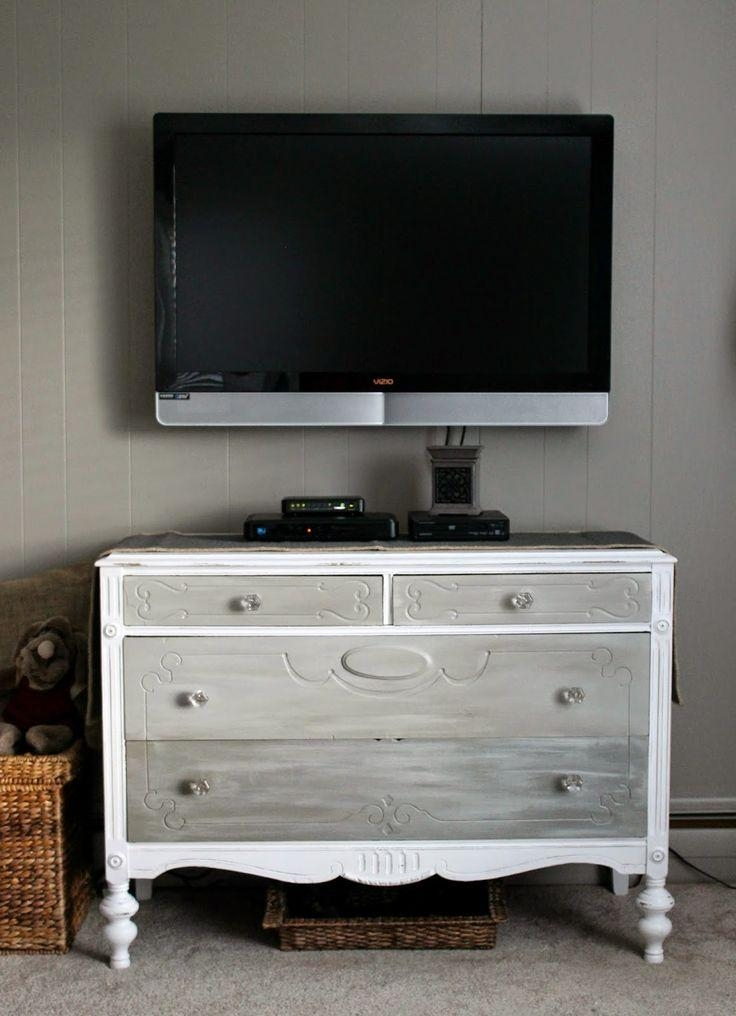 Best 25+ Antique Tv Stands Ideas On Pinterest | Chalk Paint In Most Popular Gold Tv Cabinets (View 18 of 20)